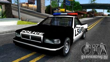 New Police Car для GTA San Andreas