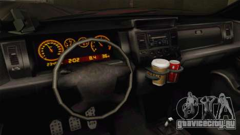 GTA 5 Bravado Gresley для GTA San Andreas вид изнутри
