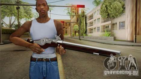 Wheel Lock Pistol 2.0 Fixed High Quality для GTA San Andreas третий скриншот