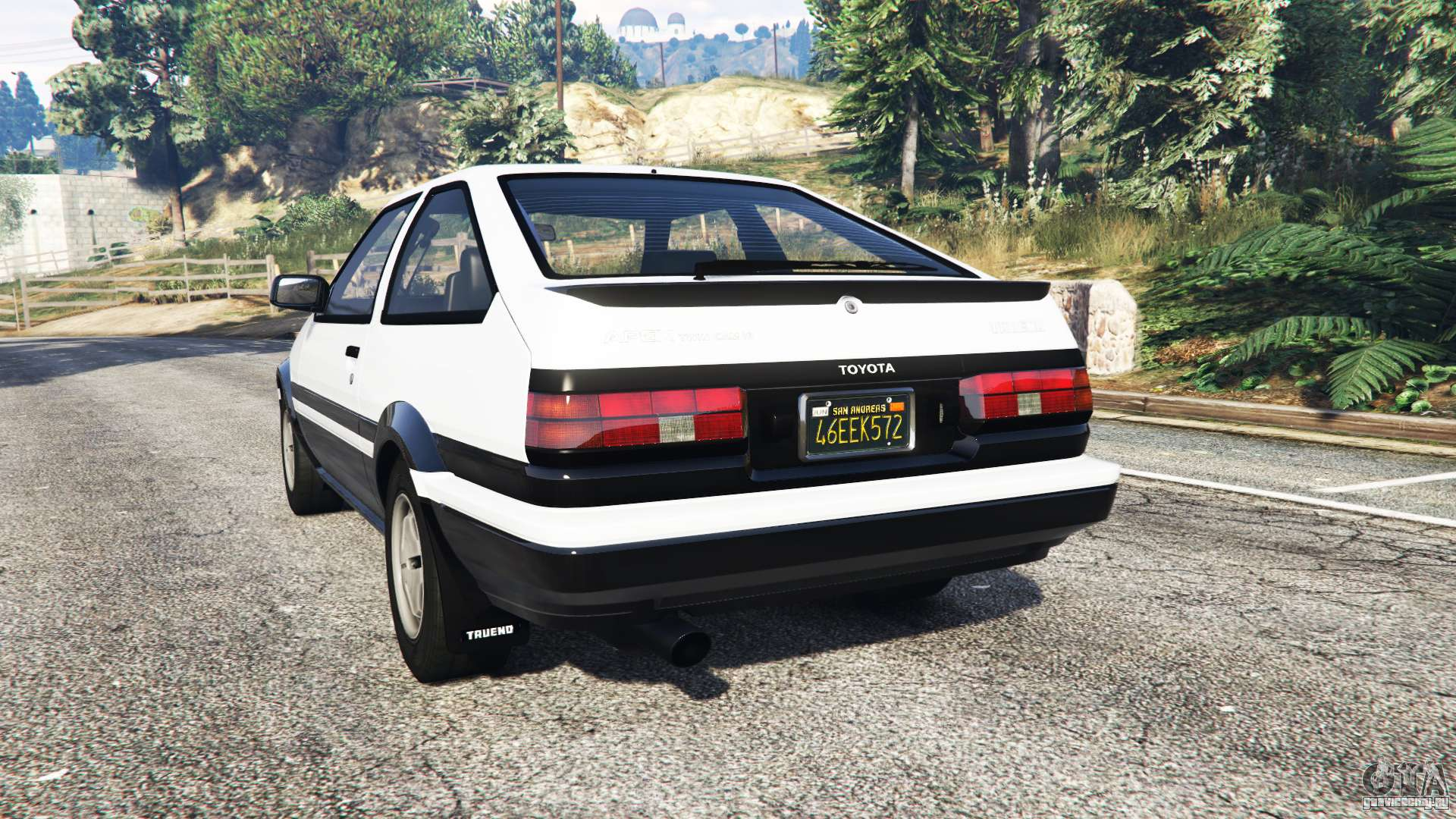 toyota sprinter trueno gt apex ae86 replace gta 5. Black Bedroom Furniture Sets. Home Design Ideas