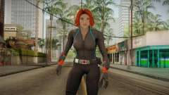 Marvel Heroes - Black Widow Scarlet Johanson для GTA San Andreas