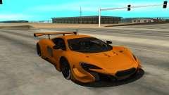 McLaren 650S GT3 для GTA San Andreas