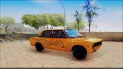 ВАЗ 2106 олива для GTA San Andreas