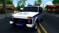 Lada 4x4 21310-59 Urban 2016 Russian Police для GTA San Andreas