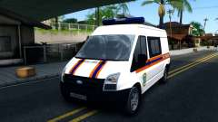 """Ford Transit """"МЧС"""" для GTA San Andreas"""