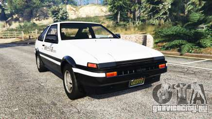 Toyota Sprinter Trueno GT-Apex (AE86) [replace] для GTA 5