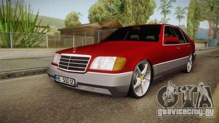 Mercedes-Benz W140 Projekt для GTA San Andreas