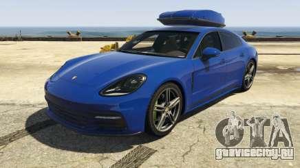 Porsche Panamera 2017 для GTA 5