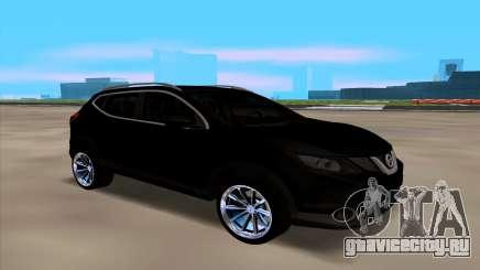 Nissan Qashqai 2016 для GTA San Andreas