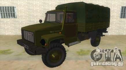 ГАЗ 33081 Садко Военный для GTA San Andreas