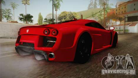 Noble M600 для GTA San Andreas вид справа