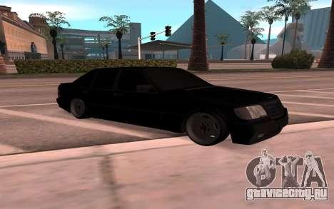Mercedes-Benz 63S Brabus для GTA San Andreas