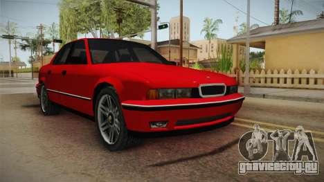 Midnight Club 2 - Schneller V8 для GTA San Andreas вид справа