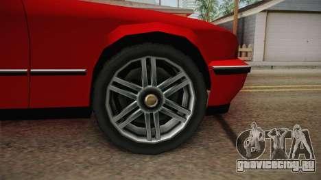 Midnight Club 2 - Schneller V8 для GTA San Andreas вид сзади