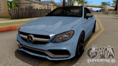 Mercedes-Benz C63S AMG Coupe для GTA San Andreas