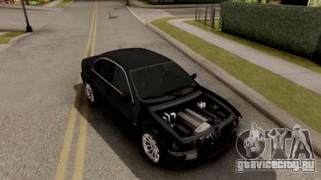 BMW M5 E39 GVR для GTA San Andreas вид справа