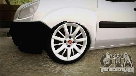 Fiat Doblo 2008 для GTA San Andreas вид сзади