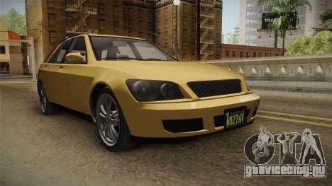 GTA 5 Karin Sultan SW IVF для GTA San Andreas вид справа