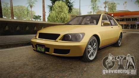 GTA 5 Karin Sultan SW IVF для GTA San Andreas