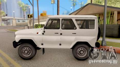 УАЗ Hunter для GTA San Andreas вид слева