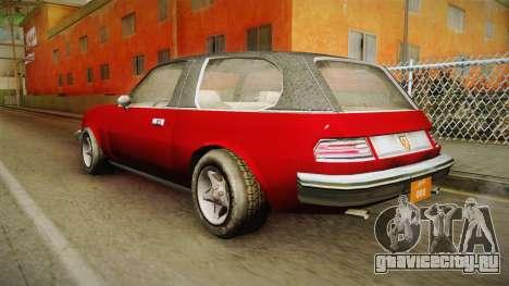 Driver: PL - Rhapsody для GTA San Andreas вид слева
