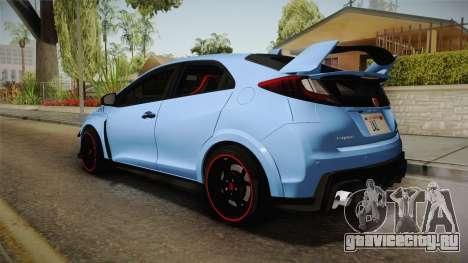 Honda Civic Type R 2015 для GTA San Andreas вид слева