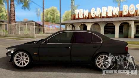 BMW M5 E39 GVR для GTA San Andreas вид слева