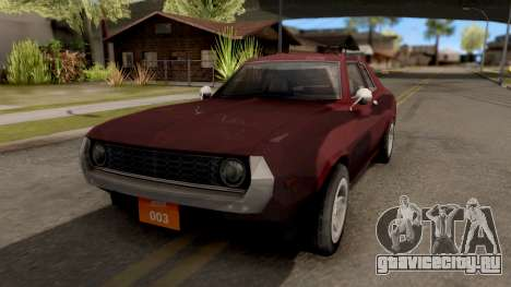 Driver PL Bonsai для GTA San Andreas
