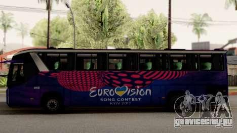 Scania K420 Eurovision 2017 для GTA San Andreas вид слева
