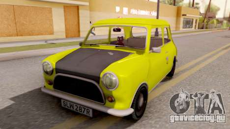 Mini Cooper 1300 Mr Bean для GTA San Andreas