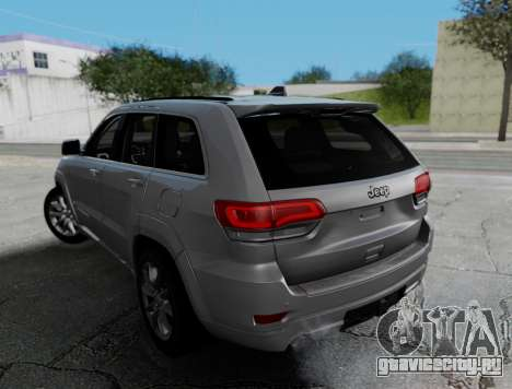 Jeep Grand Cherokee Limited для GTA San Andreas вид слева
