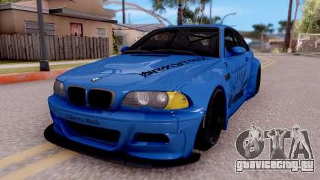 BMW M3 E46 Liberty Walk для GTA San Andreas