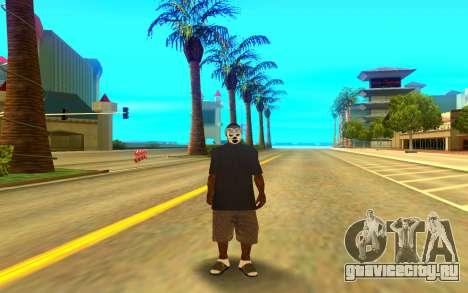 BALLAS GANG для GTA San Andreas второй скриншот