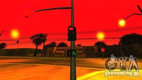 NEW particle.txd v1.0 для GTA San Andreas пятый скриншот
