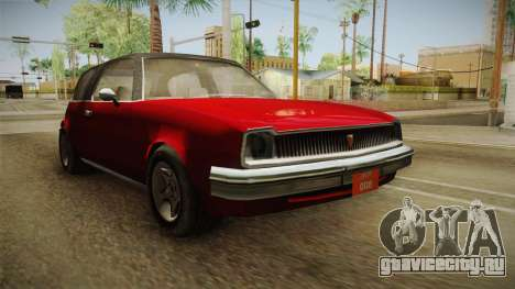 Driver: PL - Rhapsody для GTA San Andreas вид справа