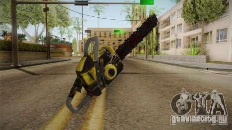 Leatherface Butcher Weapon 2 для GTA San Andreas третий скриншот
