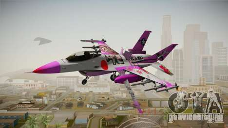 FNAF Air Force Hydra Mangle для GTA San Andreas вид сзади слева