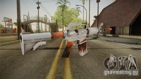 CS:GO - M4A1-S Freeze No Silencer для GTA San Andreas третий скриншот