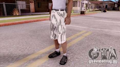 Бриджи камуфляжные для GTA San Andreas