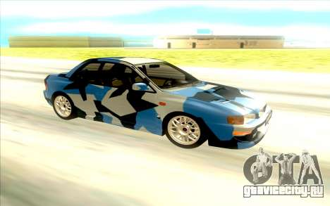 Subaru Impreza 22B STi для GTA San Andreas