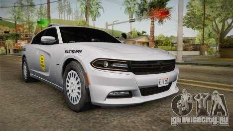 Dodge Charger 2015 Iowa State Patrol для GTA San Andreas
