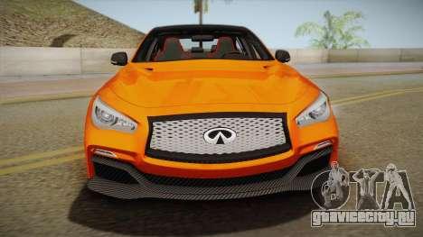 Infiniti Q50 Eau Rouge 2014 для GTA San Andreas вид справа