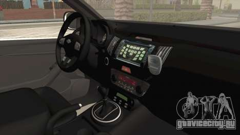 Chevrolet S10 Turkish Gendarmerie CSI Unit для GTA San Andreas вид сзади