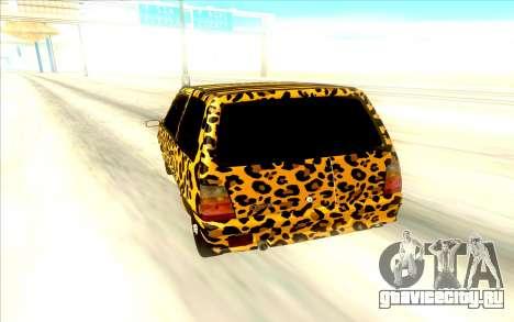 ВАЗ 1111 для GTA San Andreas вид справа