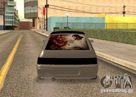 ВАЗ 2112 для GTA San Andreas вид сзади слева
