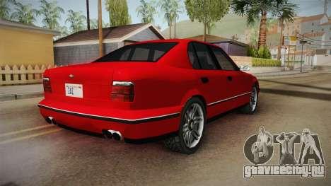 Midnight Club 2 - Schneller V8 для GTA San Andreas вид сзади слева