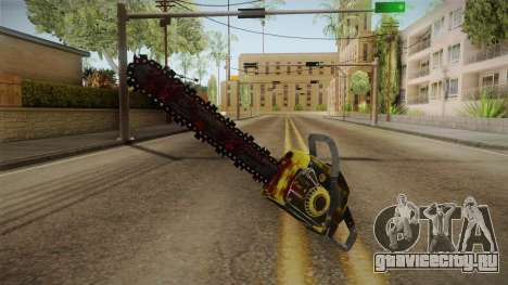 Leatherface Butcher Weapon 2 для GTA San Andreas второй скриншот