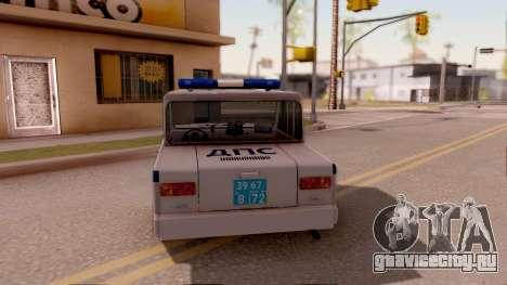 CМЗ С3Д ОБ ДПС 2.0 для GTA San Andreas вид сзади слева
