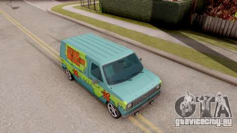 Ford Econoline 150 Scooby-Doo Mystery Machine для GTA San Andreas вид справа