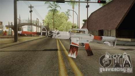 CS:GO - M4A1-S Freeze No Silencer для GTA San Andreas второй скриншот